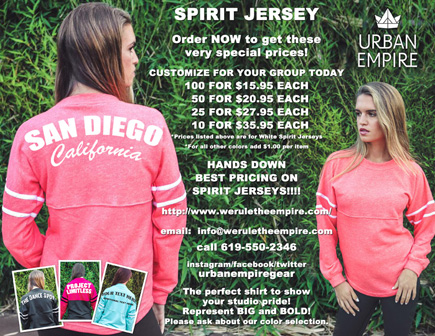 Customized Spirit Jerseys - Urban Empire